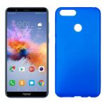 Funda trasera color azul de silicona flexible para Honor 7X