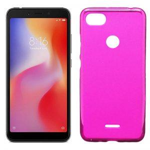 funda silicona rosa para los nuevos Xiaomi