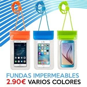 Fundas impermeables para móviles