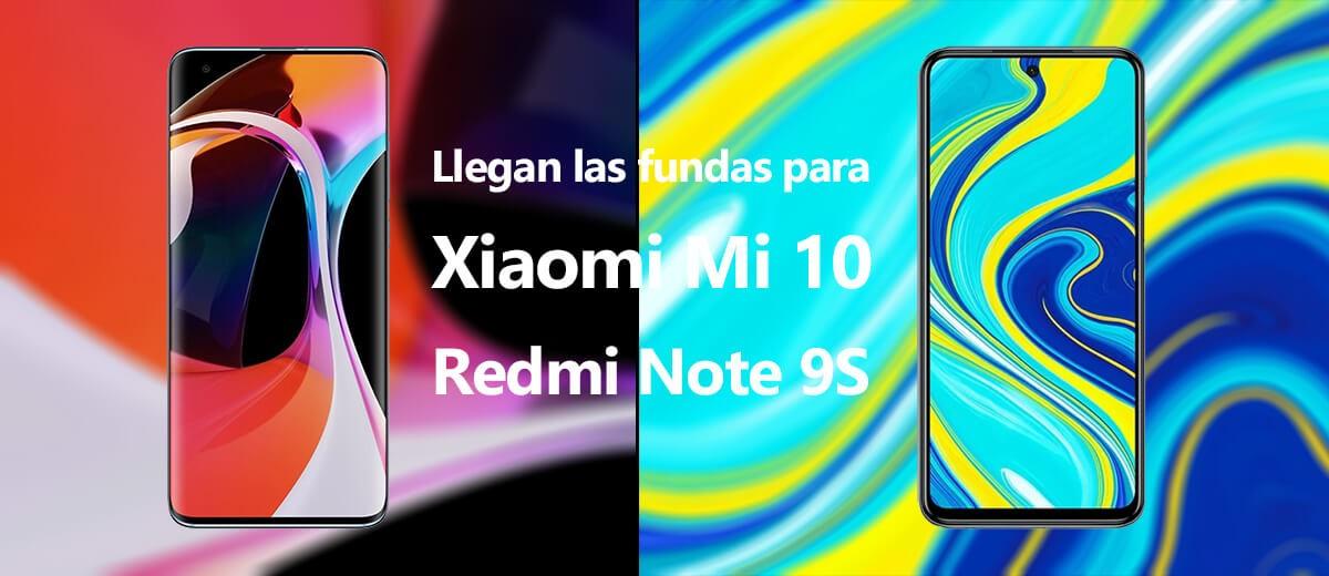 Comprar fundas para Xiaomi Redmi Note 9s y Mi 10
